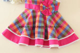 Abito bello della principessa Girls Dress Children Wear del fiore di modo
