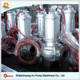 Bomba química submersível resistente à corrosão usada na fábrica da indústria