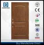 Porta de madeira exterior da fibra de vidro do dobro do projeto da porta