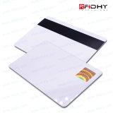 Tarjeta Elegante en Blanco del PVC RFID ID/IC con Insignia Imprimible