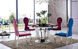 現代居間の黒の光沢度の高いガラスコーヒーテーブル