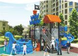 Campo da giuoco esterno di plastica di Seriers LLDPE della nave di pirata di Kaiqi per il parco di divertimenti, sosta residenziale, hotel, asilo, hotel