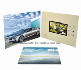 Promotion Gift (ID2801)のための2.8inch Video Business Card Video Greeting Card Video Brochure Card