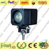 "CREE 2 "" 10W 9-32V Square 900 Lumen LED Work Light, LED Driving fuori strada Cars Fog Light, Super Bright"