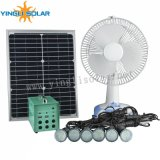 15W-18V Mini Solar Fan met Three Level Speed Regulations