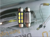 6SMD 5050 plafoniere dell'indicatore luminoso del festone dell'automobile LED che leggono l'indicatore luminoso della lettura dell'indicatore luminoso della targa di immatricolazione per l'automobile