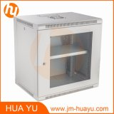 Welded Frame와 Glass Door를 가진 6u~14u Wall Mount Cabinet