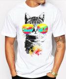 신식 형식 면에 의하여 인쇄되는 남자 t-셔츠
