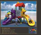 Kaiqi Small Colourful Animal Playground temático con Slides (KQ50125D)