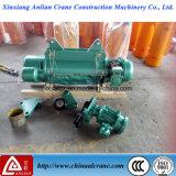 Élévateur électrique anti-déflagrant de câble métallique avec le chariot
