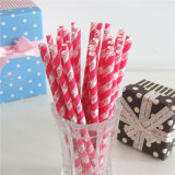 Papier OEM potable Straws flexible avec Logo
