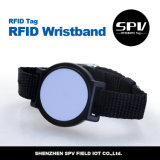 13,56 impermeable pulseras RFID de silicona