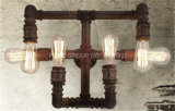 Dekorative Hauptwand-Lampe mit Wasser-Rohr