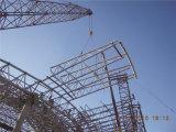 Estructura resistente del braguero del tubo de acero del terremoto/edificio fabricado acero