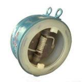 Het Plastiek van Flouorine van het wafeltje voerde de Dubbele Klep van de Controle van de Schommeling van de Schijf (GAH76F)
