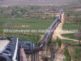 Energia-Saving Belt Conveyor do ISO Overland do CE de 1200mm com Rubber Belt