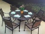 Hc-GF-D63鋳造アルミまたは鉄の庭の家具セット