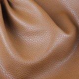 Cuir de PVC d'épaisseur des graines 1.2mm de litchi pour le tissu de sofa (788#)