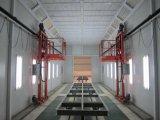 Изготовление будочки брызга Carbody в будочке краски Китая для тележки и шины