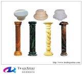 새겨지는 손을%s 가진 Morden 디자인 성격 대리석 돌 로마 란 또는 기둥
