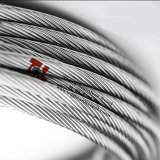 316 1X19 12mmのステンレス鋼ワイヤーロープ