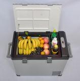 Портативный холодильник 52liter DC12/24V компрессора автомобиля с переходникой AC (100-240V) для пользы мероприятий на свежем воздухе