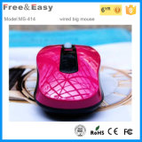 Concurrerende OEM Mouse van Price Fashion 4D Wired Optical USB