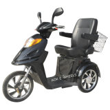 Saddle de luxe Disabled Electric Tricycle para Elder People
