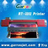 Nueva los 3.2m el 1.8m impresora del solvente de Eco de la impresora del formato grande de Garros