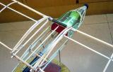 Rede de pouco peso Pólo da fibra de vidro com aviões modelo