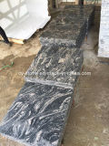 Mattonelle di pietra naturali del granito della Cina Juparana per la parete/pavimento/controsoffitto