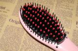 Pelo rápido de la visualización del LCD de la enderezadora del pelo que labra el cepillo