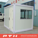 Casa modular pré-fabricada do recipiente do tamanho pequeno para a caixa de sentinela