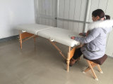 Vector de madera del masaje, base del masaje (MT-003)