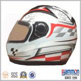 涼しい金の太字Motorcrossかオートバイのヘルメット(FL102)