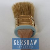 塗りなさいBrush (Oval Brush White Bristle Paint Brush With Beech Wood Handleのペイントブラシ)を