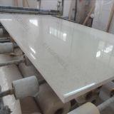 laje artificial da pedra de quartzo da mancha do espelho de 2cm para o banco 170327 da cozinha
