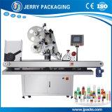 Horizontal automática farmacéutica y de alimentos a pequeña botella de etiqueta autoadhesiva Etiquetado Maquinaria