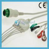 Pm5000, Pm6000 ECG Kabel mit Leitungsdrähten