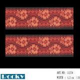 Тканье шнурка от реальной фабрики с цветом прикрепляет 4-5