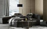 Sofá de la tela del sofá del cuero de los muebles de Divany D-63 E (r) +E (l)