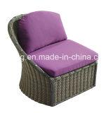 Le jardin en osier de plein rotin fabriqué à la main chinois a employé le jeu de sofa