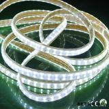 Tira doble de la fila LED del alto voltaje 144LED de SMD5050 20-22lm/LED ETL