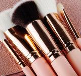 De roze Dame 8 Stukken van de Luxe nam de Gouden Borstel van de Make-up toe