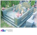 Steen van het graniet poetste Chinees Monument, Grafsteen op