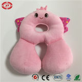 맨 위 지원 방석 아기 연약한 귀여운 견면 벨벳 목 베개