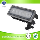 Impermeable al aire libre IP65 Ronda 220V 6W Reflector LED