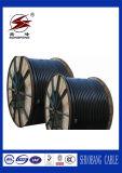cable aislado PVC de cobre de la corriente eléctrica del conductor 0.6/1kv