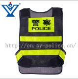 Veste reflexiva da polícia/veste da segurança/veste do refletor (SYFGBX-10)