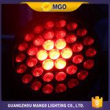 Luz principal móvil caliente de la etapa ligera de DJ de la colada del traje Robin600 del zoom LED de las ventas 37*10W